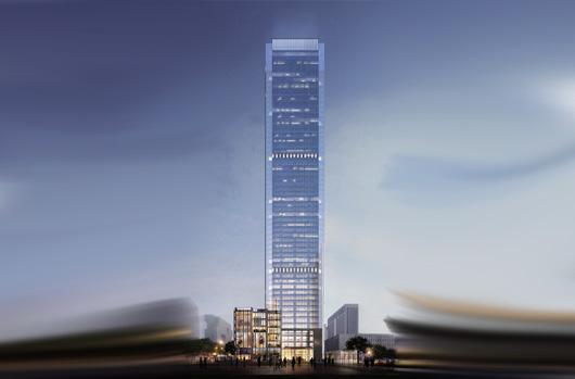 泰州兴业国际大厦(苏中第一高楼)
